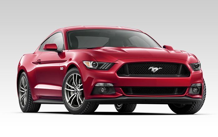 Mustang Ruby Red